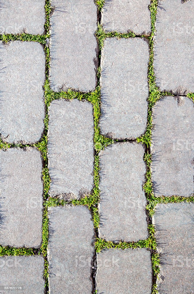 Cobblestone Background stock photo