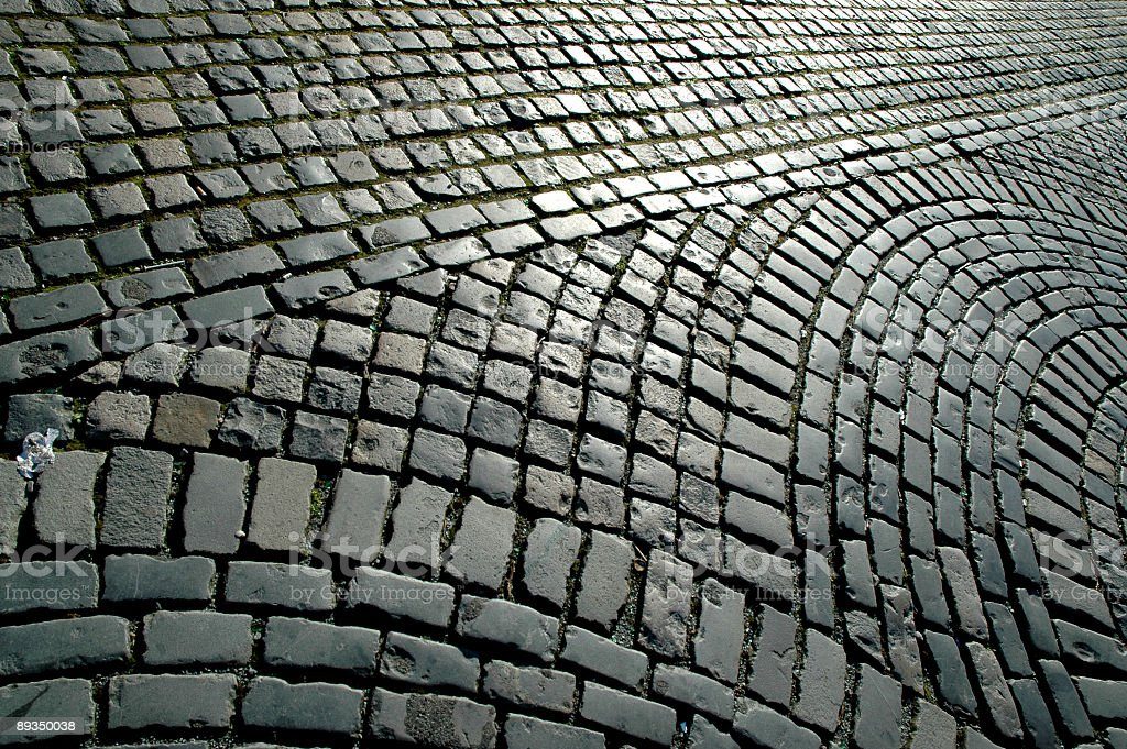 Cobblestone background royalty-free stock photo