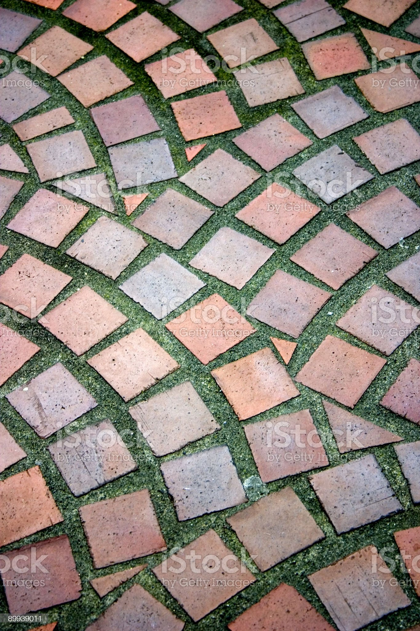Cobblestone Bricks royalty-free stock photo