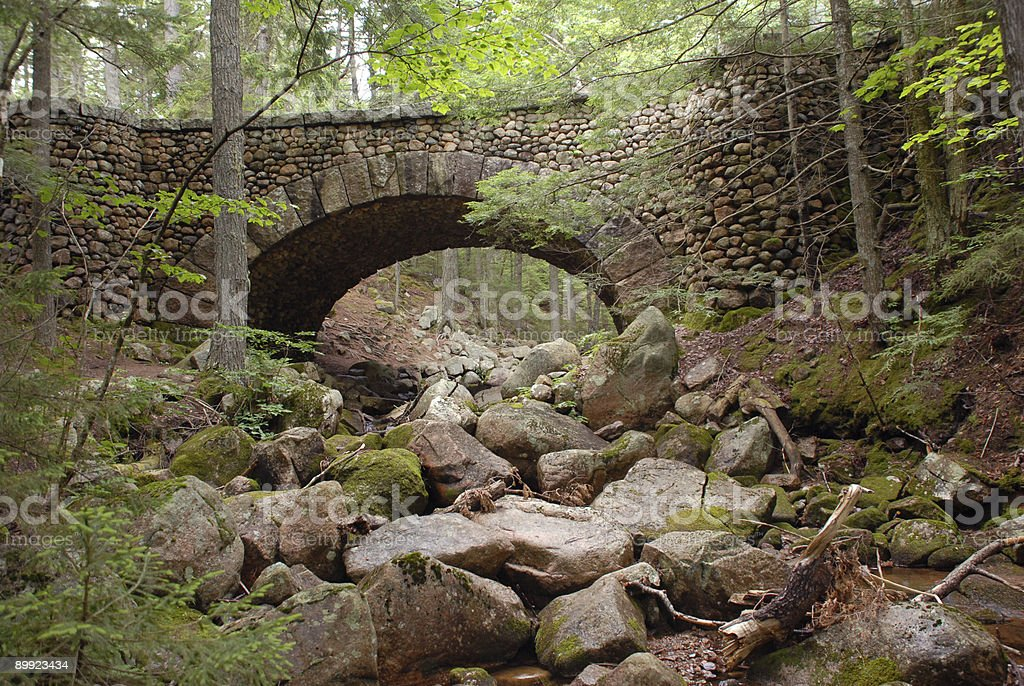 Cobblestone Bridge royalty-free stock photo