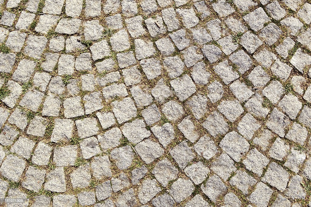 Cobblestone (Click for more) royalty-free stock photo