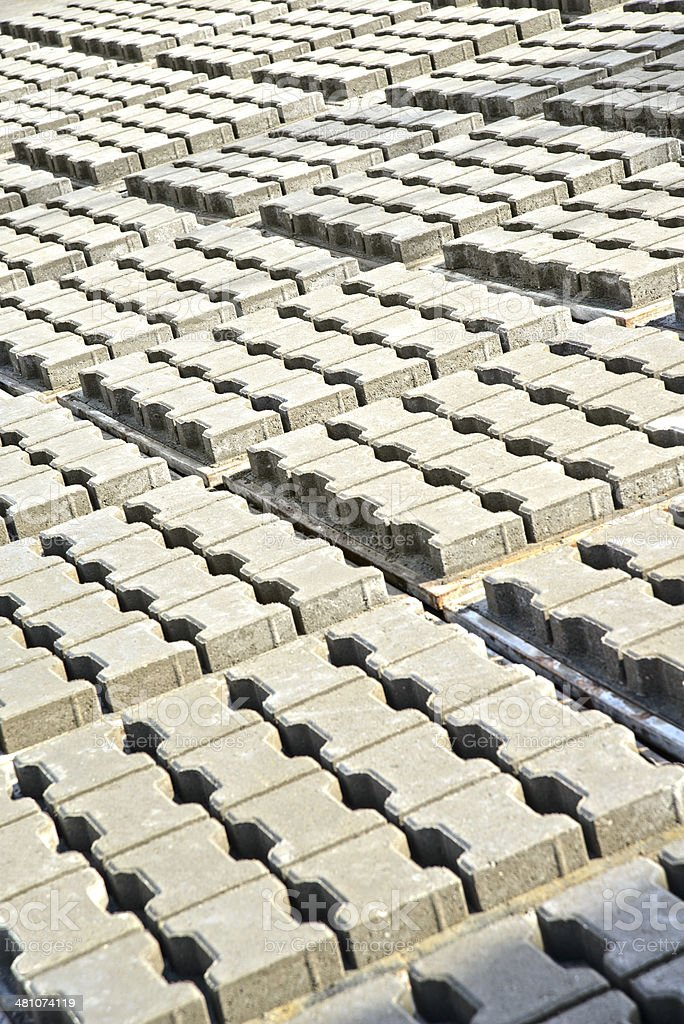 Cobblestone royalty-free stock photo