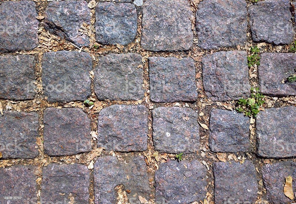 Cobblestone. stock photo
