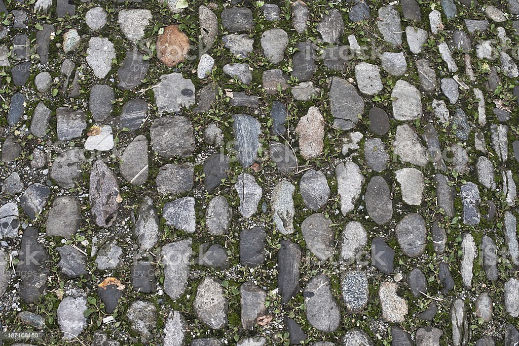 cobblestone plaza place square royalty-free stock photo