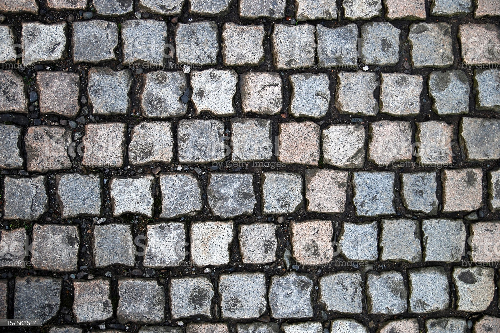 Cobblestone texture background royalty-free stock photo