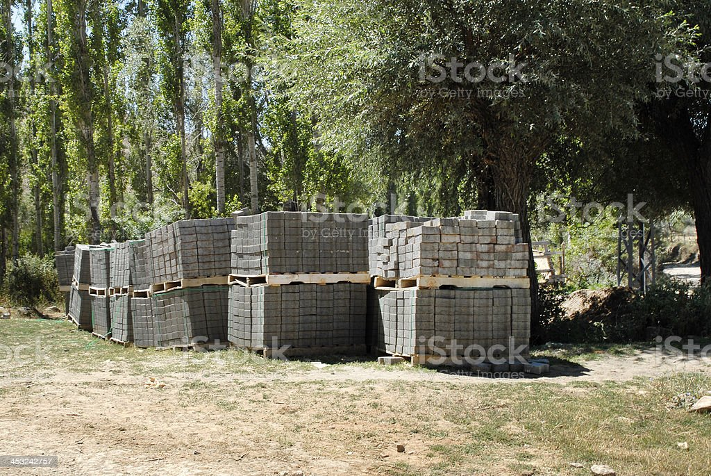Cobblestones (Click for more) royalty-free stock photo