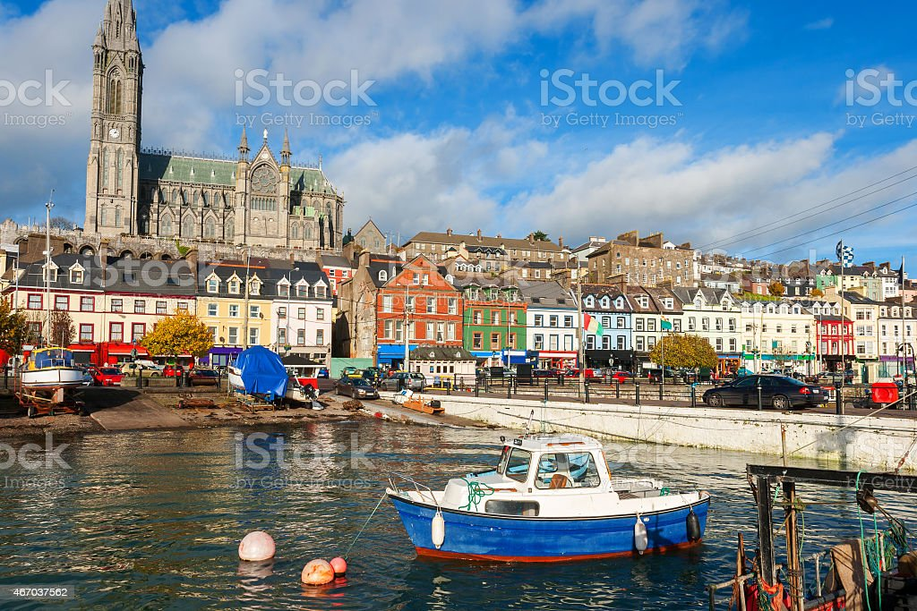 Cobh. Co Cork, Ireland stock photo