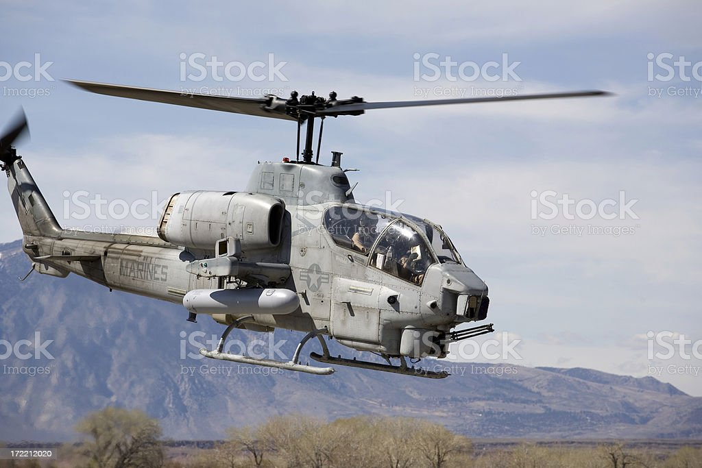 Cobra Helicopter royalty-free stock photo