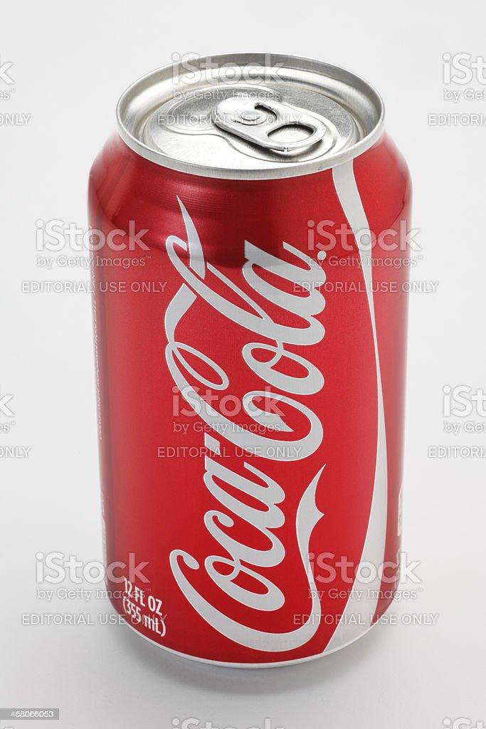 Coca Cola Can stock photo