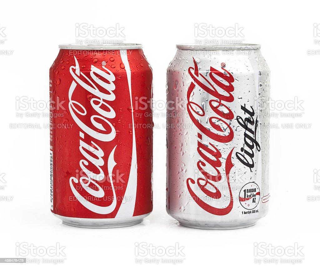 Coca Cola Products stock photo