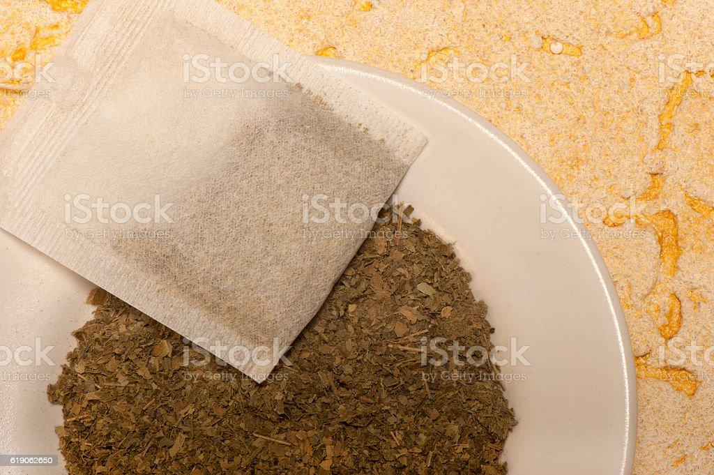 Coca Tea stock photo