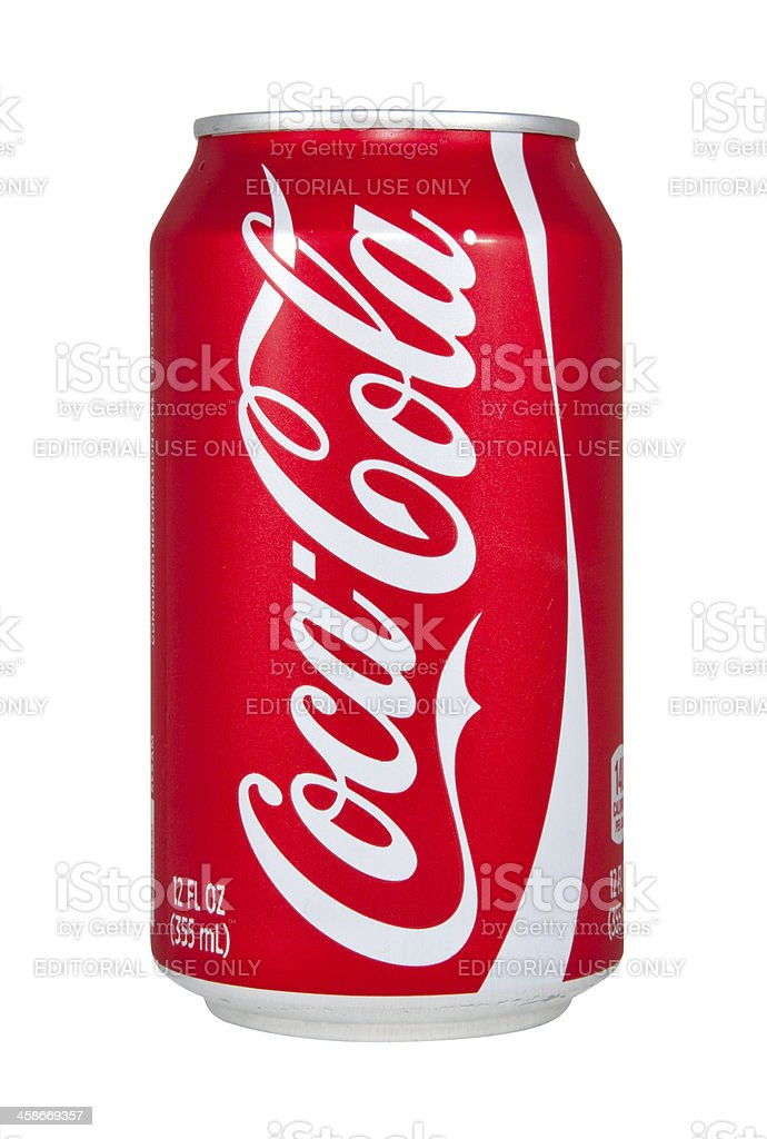 Coca-Cola Can royalty-free stock photo