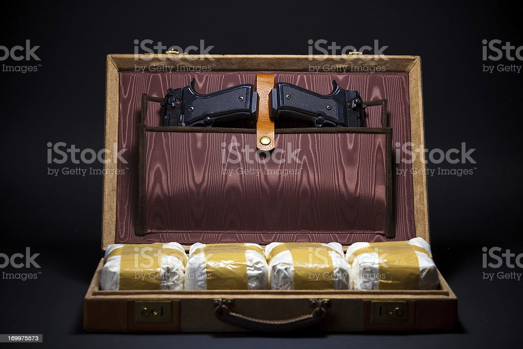 Cocaine Smuggling stock photo