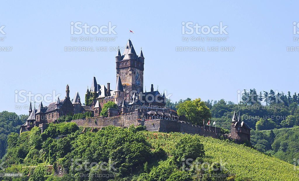 Cochem Imperial Castle, Germany royalty-free stock photo