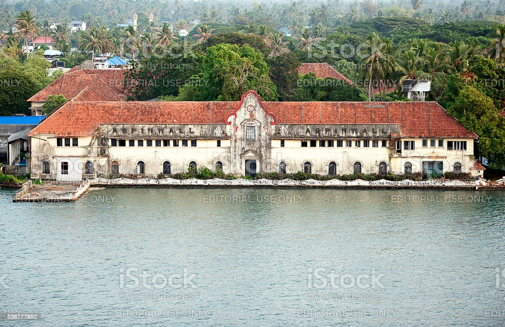 Cochin Godown - Fort Kochi, India stock photo