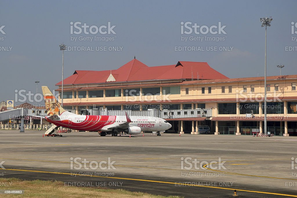 Cochin International Airport stock photo