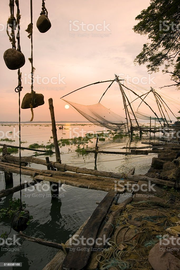 Cochin - Kochi - Kerala - India stock photo