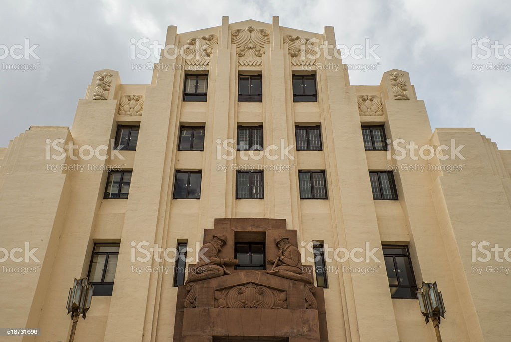 Cochise County Courthouse stock photo