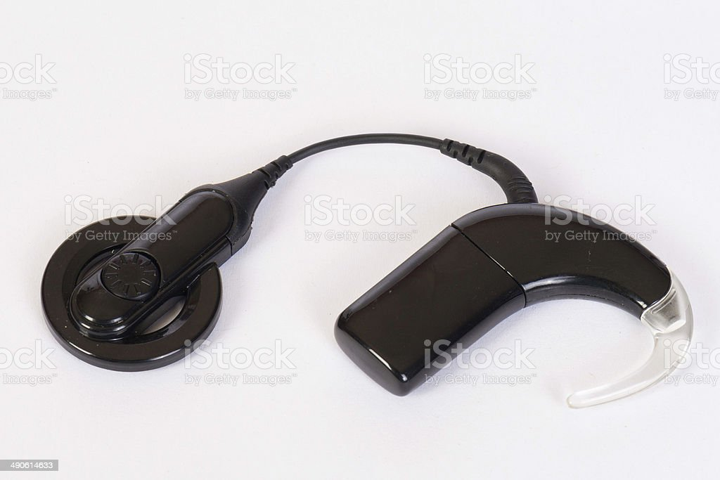Cochlear implant stock photo