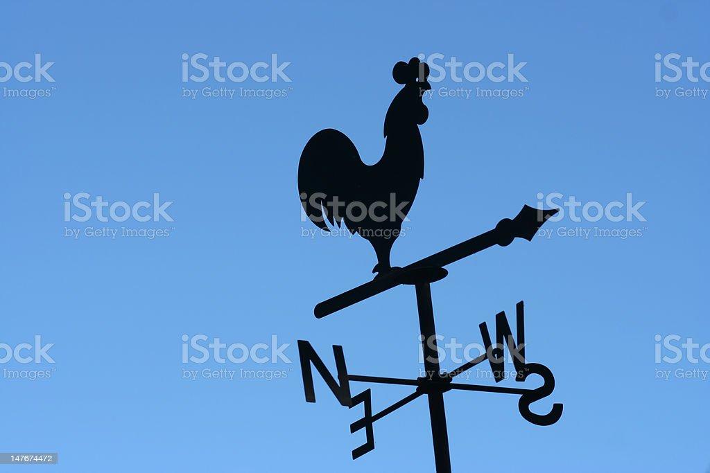 Cockerel Wind Vane stock photo