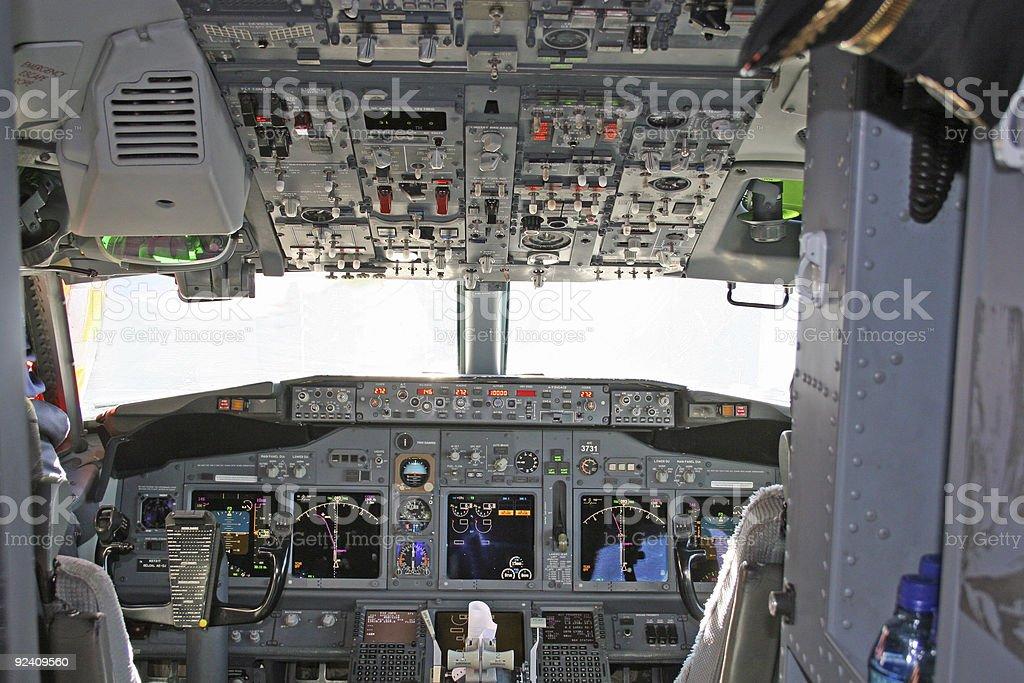 Cockpit 2 royalty-free stock photo