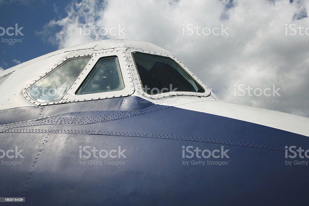 cockpit canopy stock photo