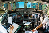 Cockpit on Dubai