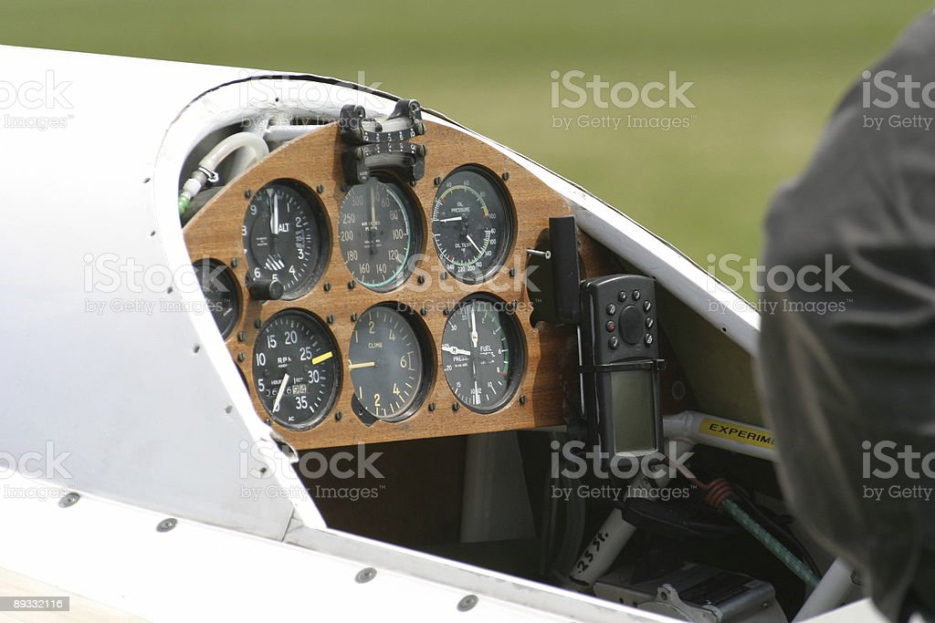 Cockpit view royalty-free stock photo