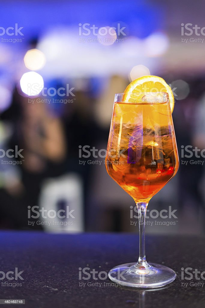 Cocktail aperol spritz royalty-free stock photo