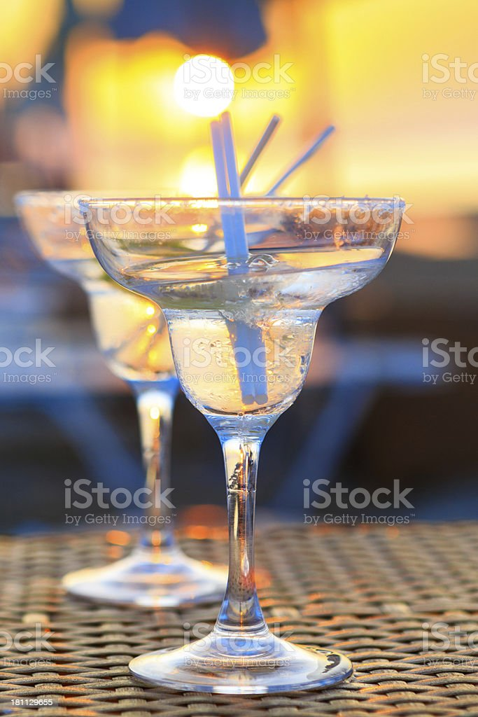 Cocktail beach royalty-free stock photo