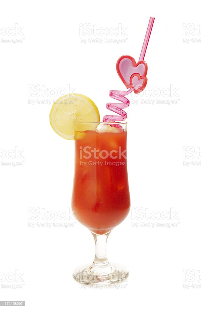 Cocktail - Bloody Mary royalty-free stock photo
