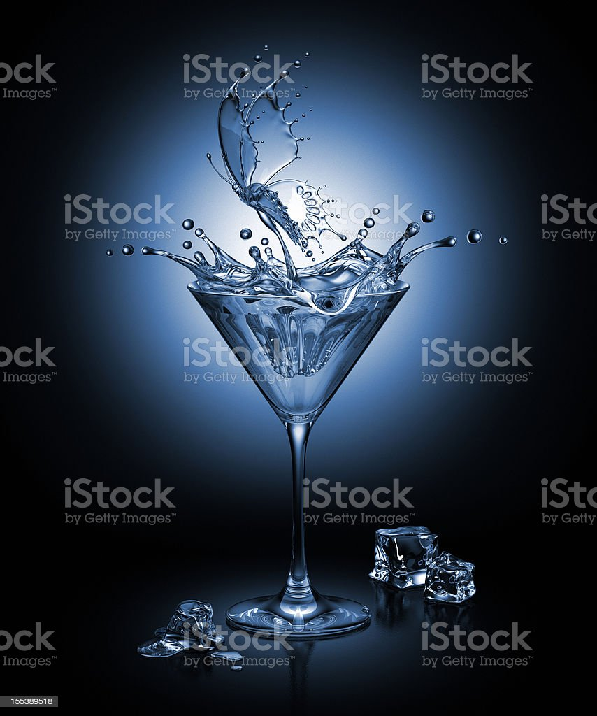 Cocktail Butterfly royalty-free stock photo