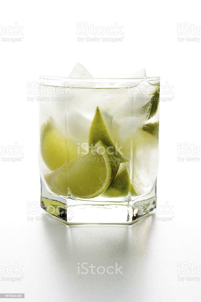 Cocktail Caipirinha stock photo