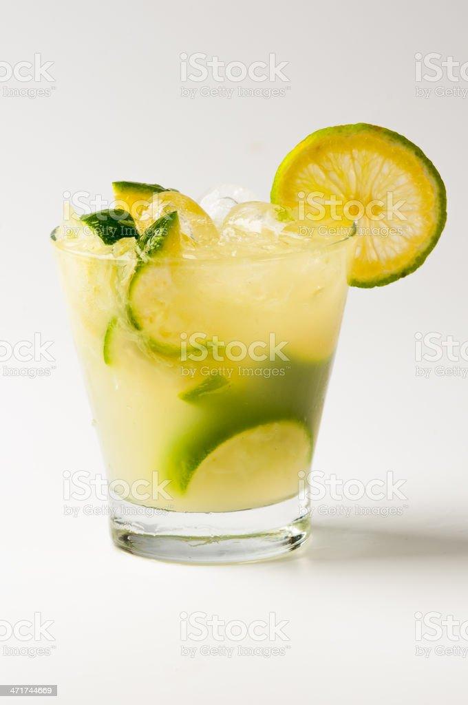 Cocktail - Caipirinha #3 royalty-free stock photo