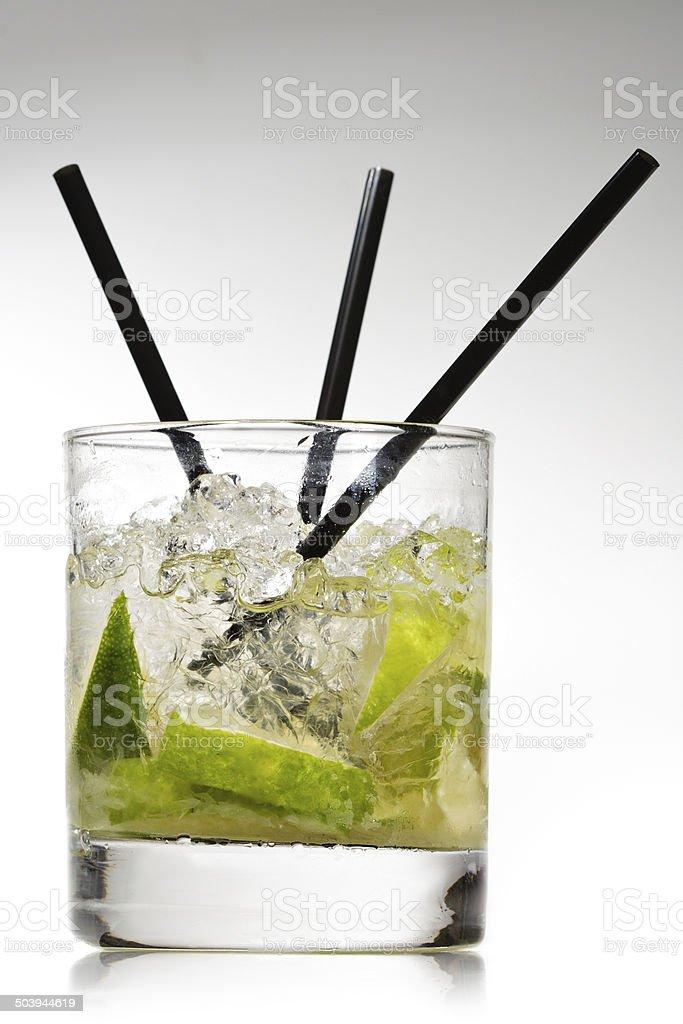 Cocktail - Caipirinha stock photo