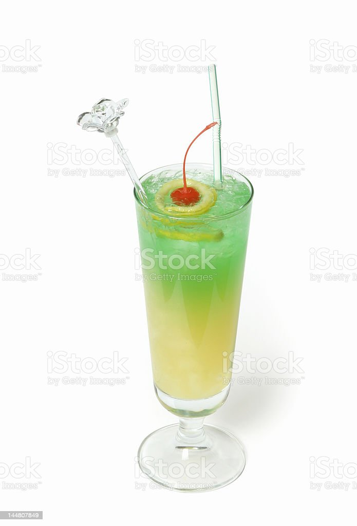 Cocktail 'Caribbean bullet' royalty-free stock photo