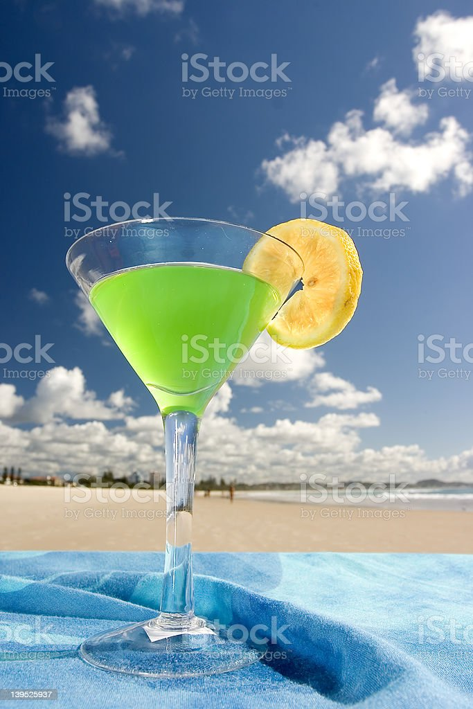 Cocktail Close-up stock photo