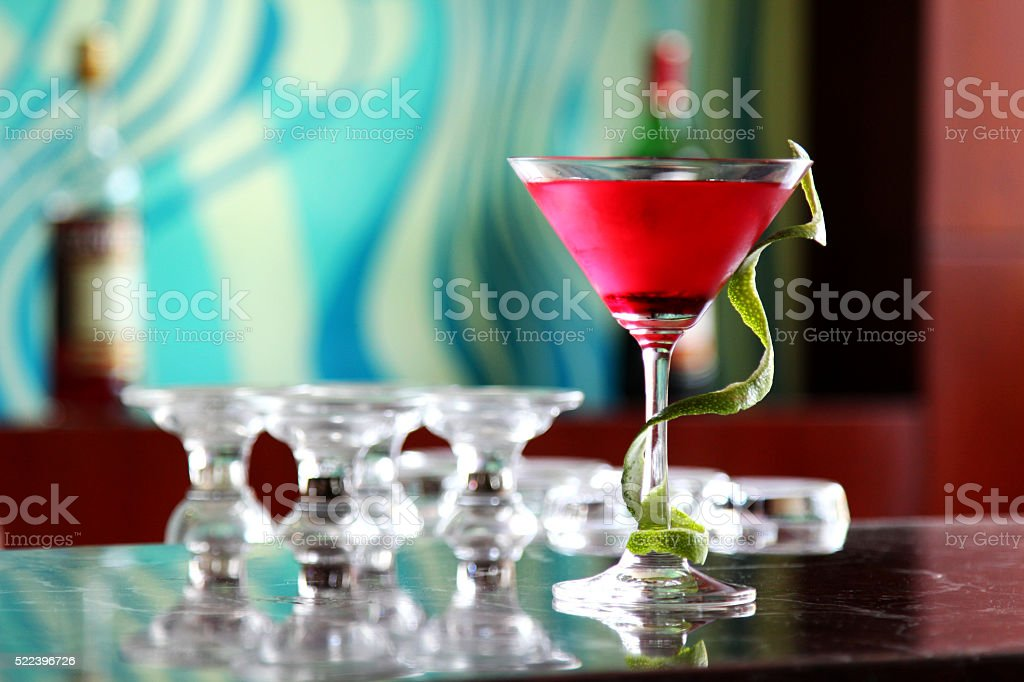 Cocktail cool stock photo