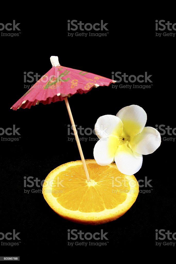 Cocktail Decorations royalty-free stock photo