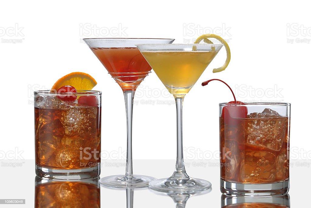 Cóctel de bebidas foto de stock libre de derechos