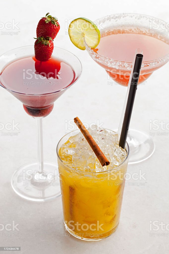 cocktail drinks royalty-free stock photo
