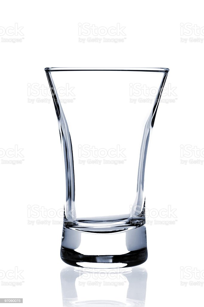 Cocktail Glass collection - Shot royalty-free stock photo