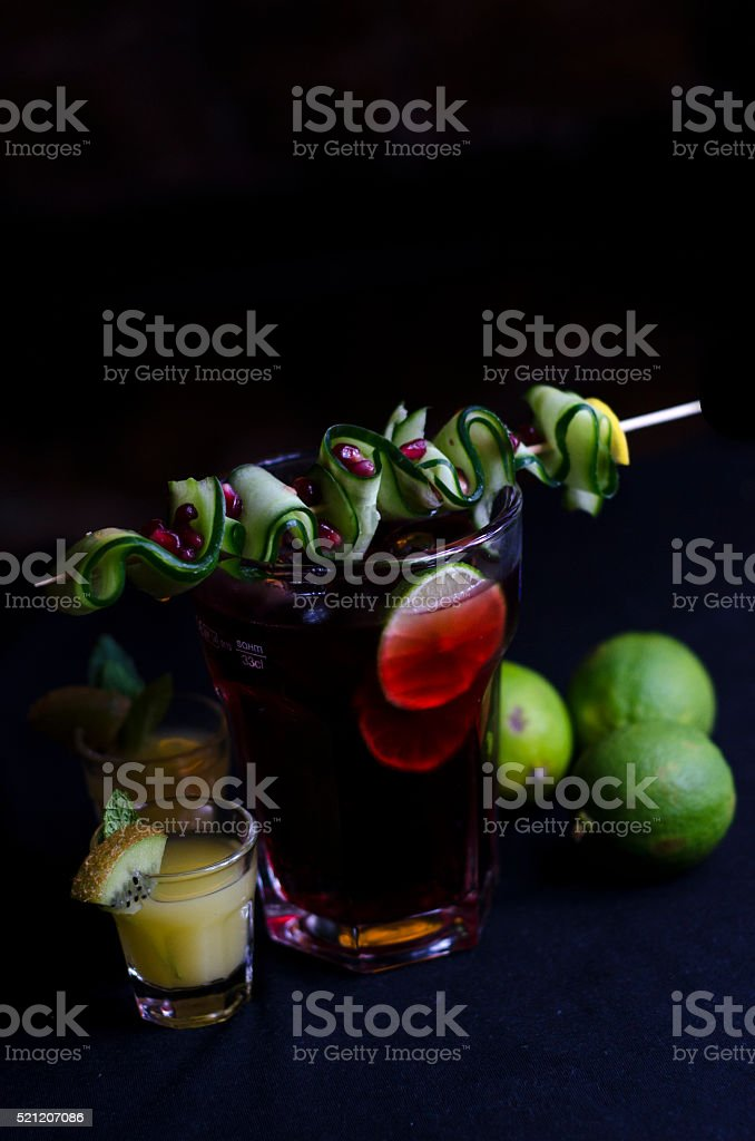 Cocktail Glass stock photo