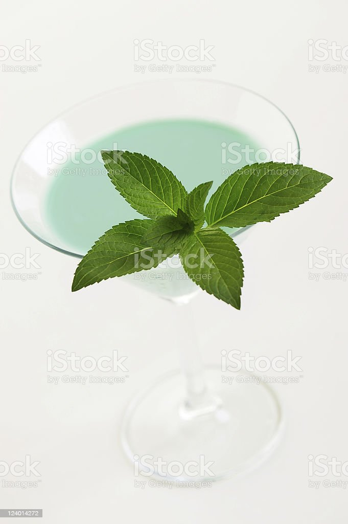 Cocktail Grasshopper stock photo