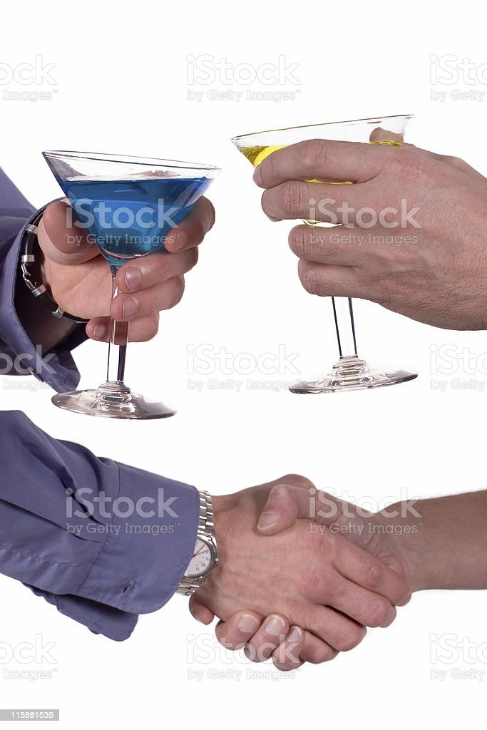 Cocktail Hour royalty-free stock photo