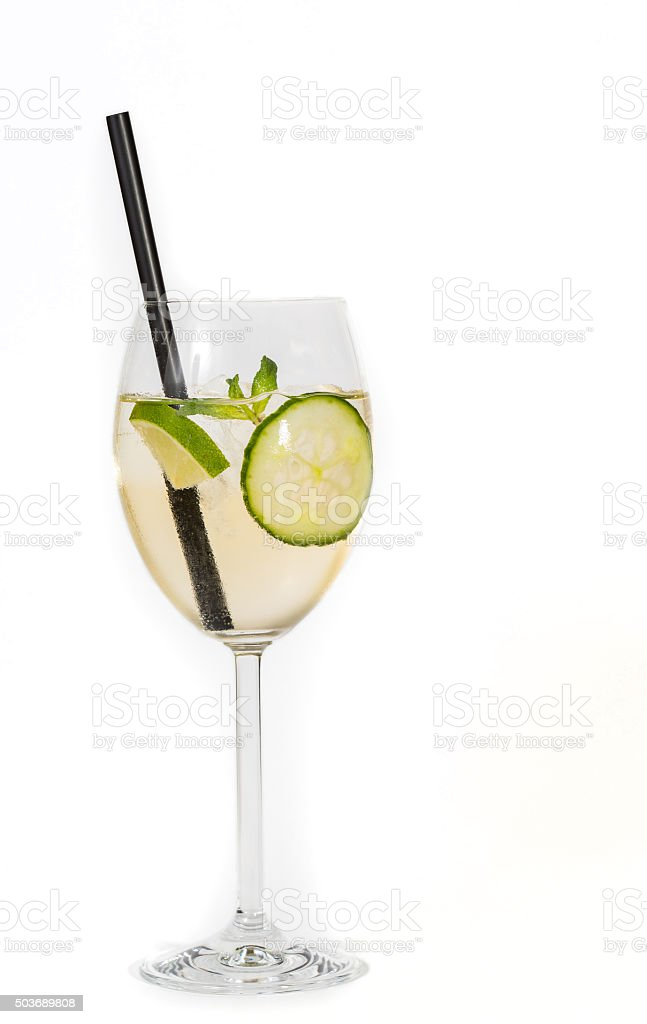 Cocktail - Lillet Blanc stock photo