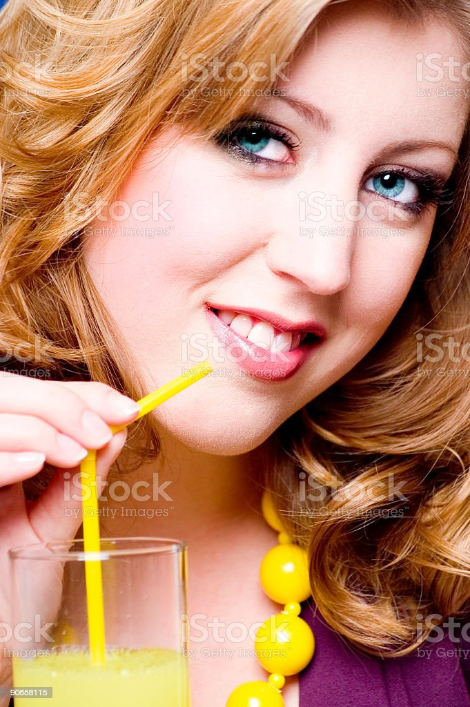 Cocktail Look stock photo