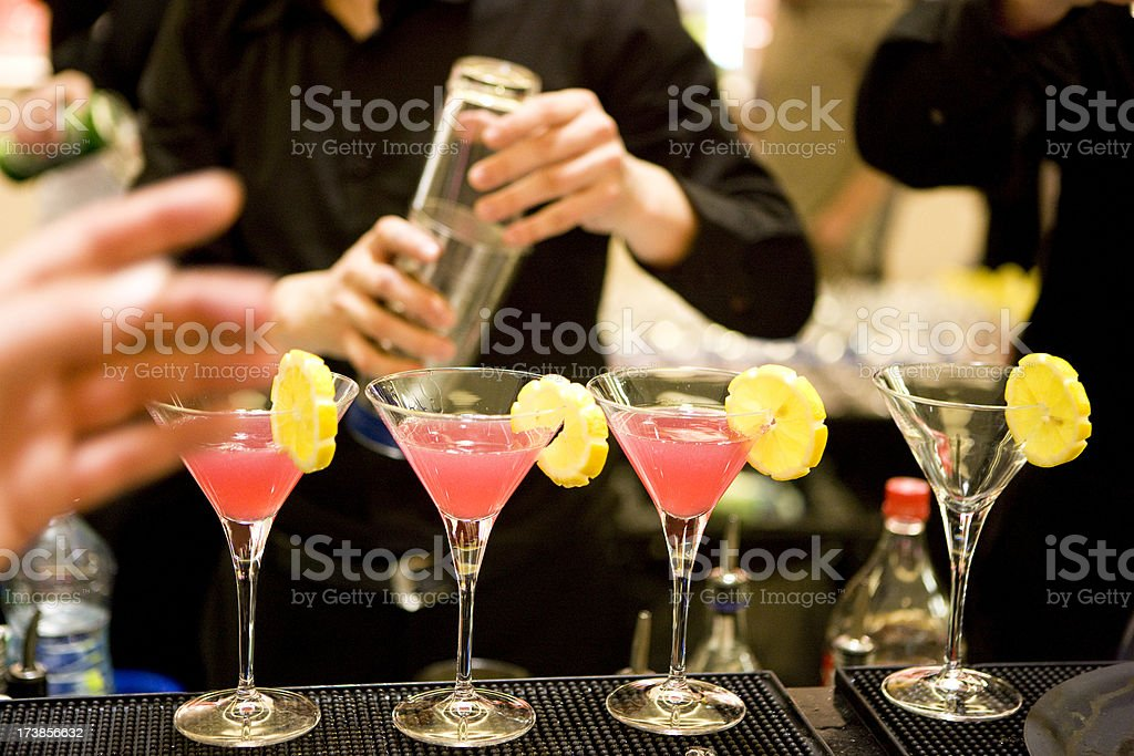 Cocktail Making royalty-free stock photo