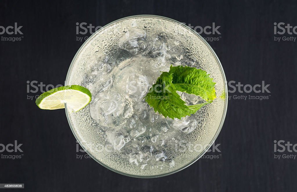 Cocktail margarita stock photo