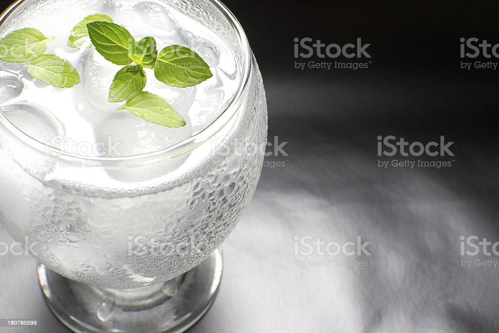 Cocktail mojito royalty-free stock photo